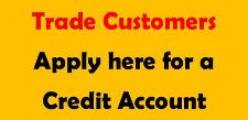 Cookson Hardware Credit Account Application Form